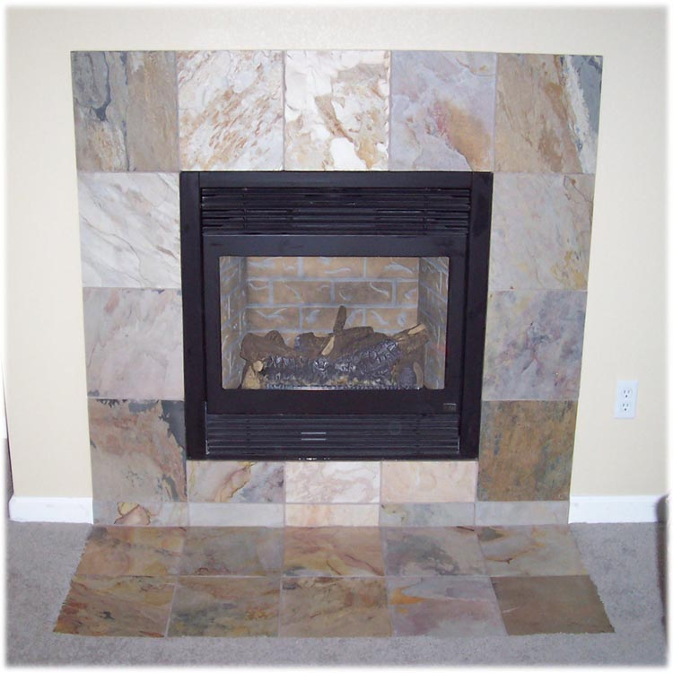 tile floors  showers and fireplaces in denver  colorado